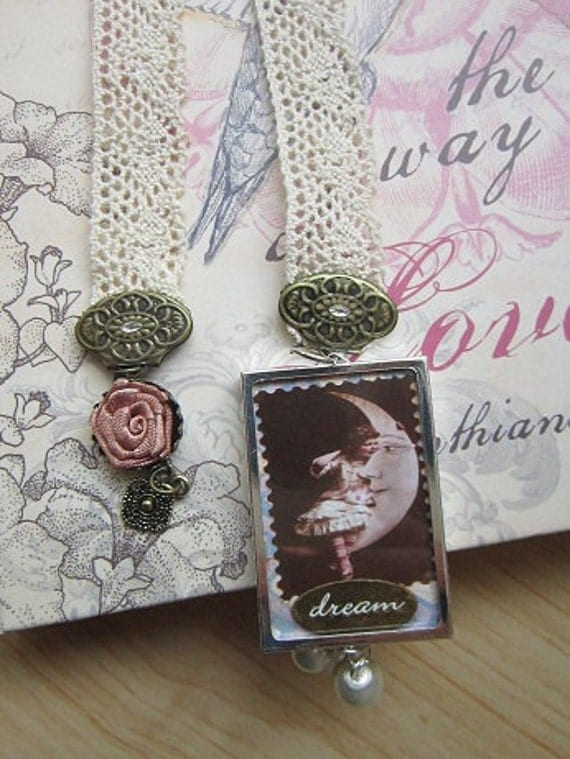 "Beautiful Lace ""Dream"" Bookmark"