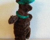 Bear in a Green Hat Finger Puppet