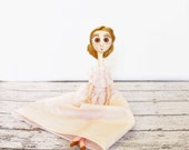 Art Doll OOAK Ugly Cute Jointed Doll Bethylle