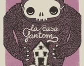 La Casa Fantom gig poster