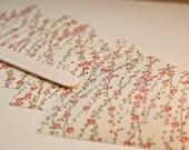 Japanese Cherry Blossom envelope liners