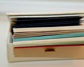 Pick an Envelope Color - includes envelope adhering service
