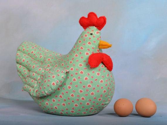 Sewn chicken doorstop - Chicken doorstops ...