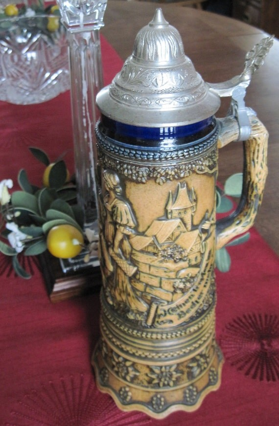 Octoberfest Musical German Beer Stein Made In Germany With