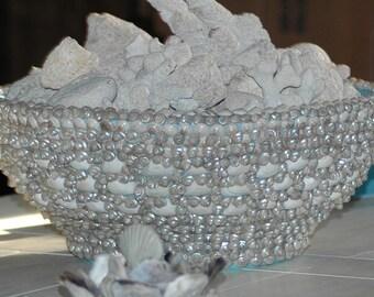 Sea Shell Encrusted Bowl