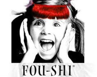 FOU-SHI - the instant haircut - red - pony to connect