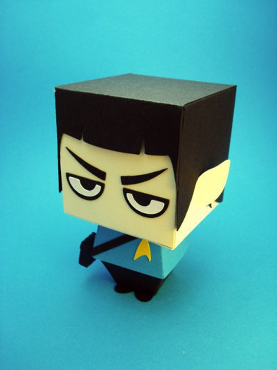 Star Trek Inspired - Spock Gift Box Display