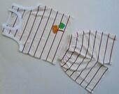Boy Summer Cotton Clothes Sets 2-3 T