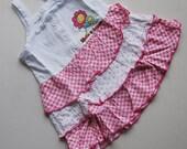 Baby Girls Cotton Summer Cake Dress 1-4T