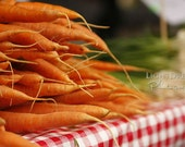Carrots - Food Photography - Kitchen Art - Farmers Market - Produce Photography - Organic - Gardening