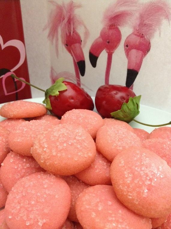 Pink Flamingo Shortbread Cookies Free Samples