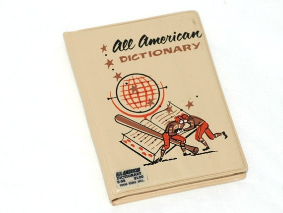 Vintage Vinyl All American Dictionary by Teen Time