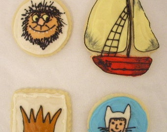 Wild Things Sugar Cookies with Buttercream Frosting