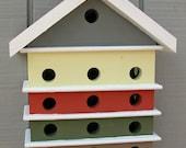 Colorful Decorative Birdhouses