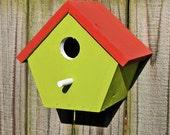 Fully Functional Cedar Birdhouses