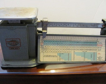 Vintage Postal Scale from 1964