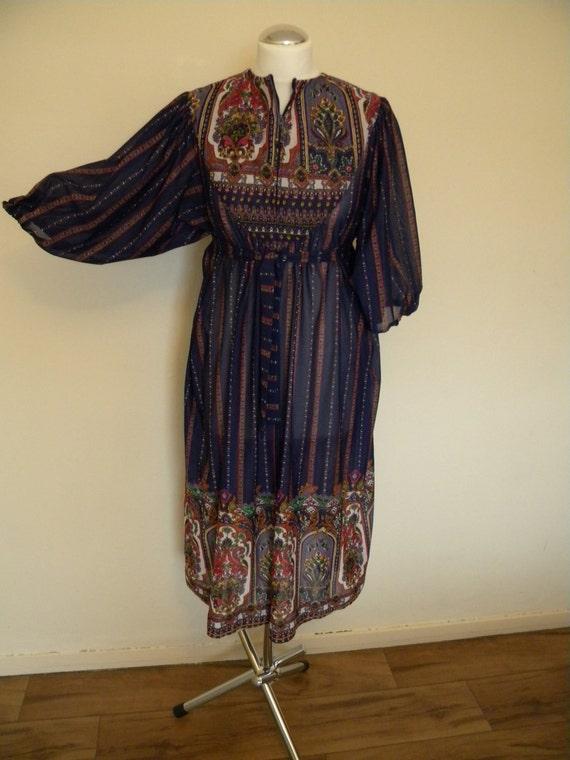 Beautiful handmade hippie dress