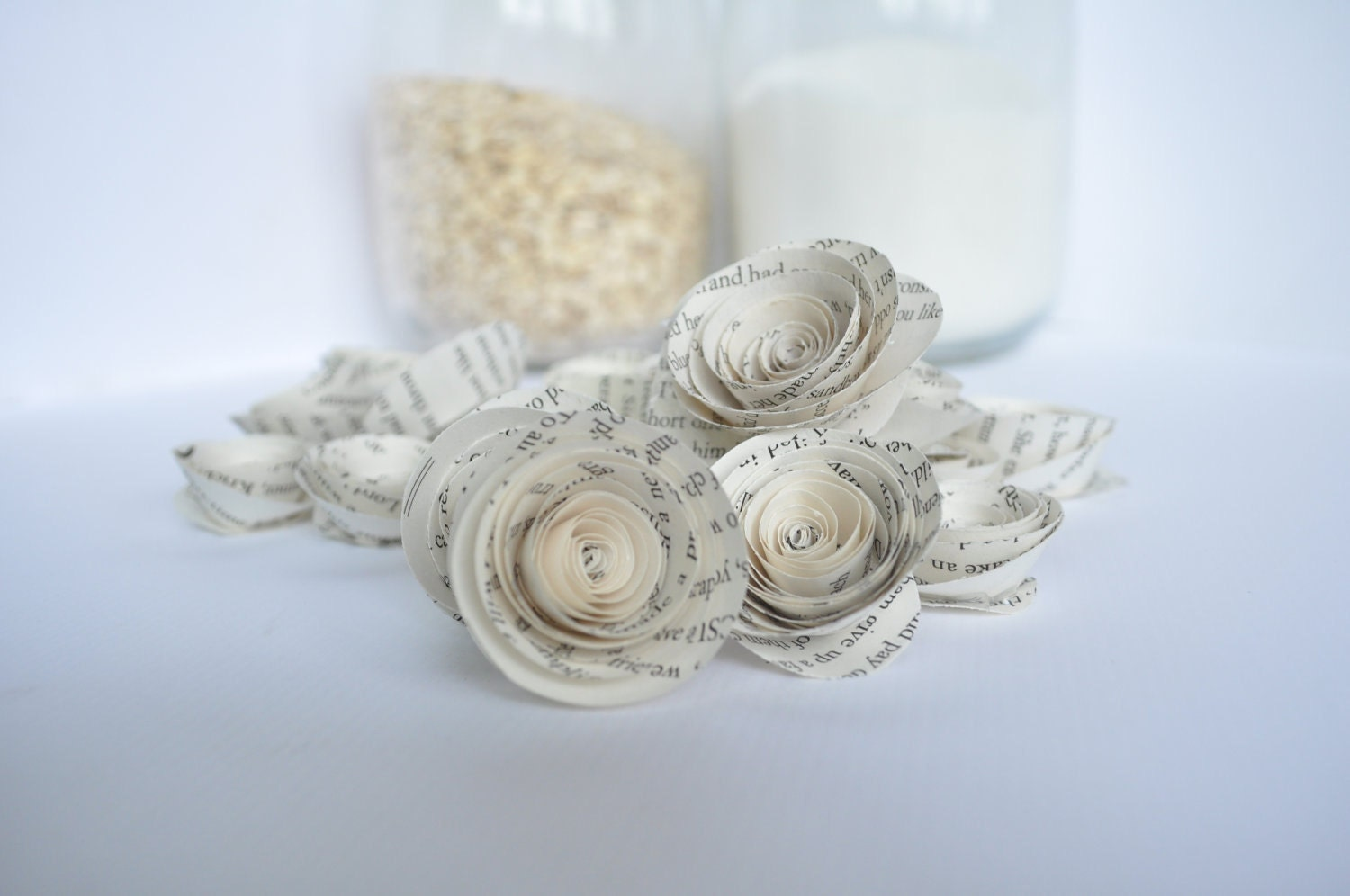 Book paper flowers paper flowers made from books book theme zoom dhlflorist Image collections
