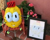 Your kids drawing made into a softie toy