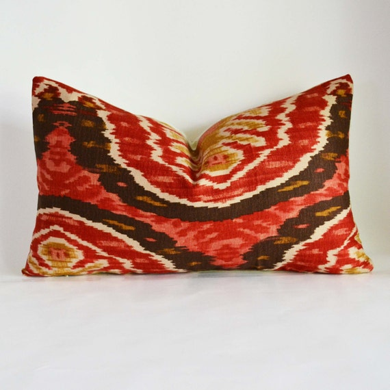 Decorative Pillow Cover 12x18 : Decorative Pillow 12x18 accent Pillow berry red