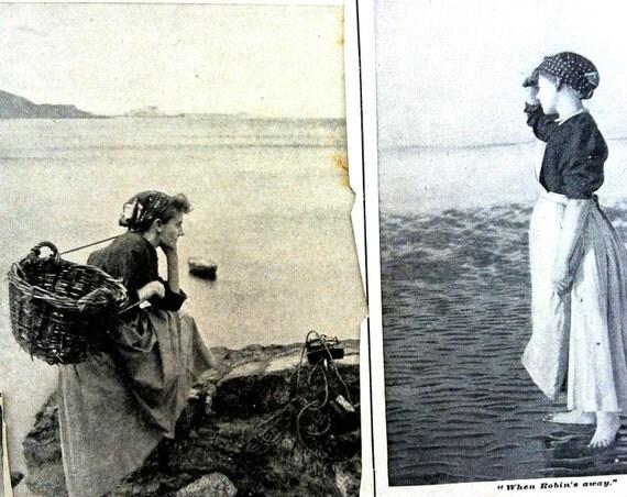 1900s LARGE SCRAPBOOKING BUNDLE