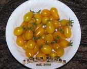 sale - Ildi yellow grape / pear style  Heirloom Tomato Seeds