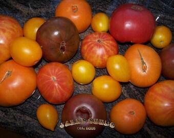 SALE - Jakes Heirloom Mix Bag of Tomato Seeds -SALE ITEM