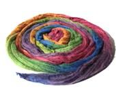 Extra Fine Australian Merino Wool And Mulberry Silk 50/50 Blend Roving Spinning Felting Hand Dyed Fiber 50 gm 1,8 oz