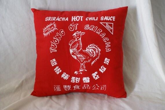 Sriracha Pillow