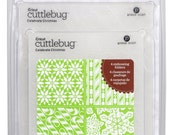 CUTTLEBUG - CELEBRATE CHRISTMAS 2012 SeT of 4 Embossing Folders -  BRaNd NeW in PkG