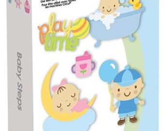 Cricut Cartridge - BABY STEPS - New and In STock - Limited Supply - Babies Infants Toddlers So CUTE