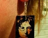 JOHN LENNON handmade earrings