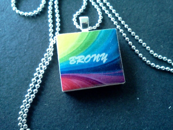 This one's for my Brony's Scrabble Tile Necklace