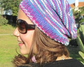 Hand knitted Hat Multicolor - Winter Accessories Winter Fashion - Hat Spring Fashion