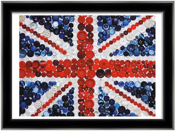Union Jack giclee print