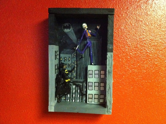 Batman vs The Joker Diorama