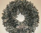 ACU Wreath w/nametape