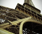 La Tour Eiffel - Paris, France - 5x7 art print - photograph - City of Light - Fine Art - Travel Photography - Home & Office Decor