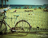 Beach in Cannes, France - 5x7 photograph print - Fine Art - Travel Photography - Home & office decor - wall art