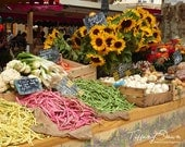 Mother's Day Gift - Market - Aix-en-Provence, South of France - 8x10 photograph print - Fine Art - Travel Photography - Decor