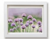 5x7 Summer garden - home decor pastel floral photography