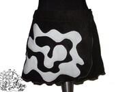 FantasY DesigN Fleece Skirt  S/M 36/38