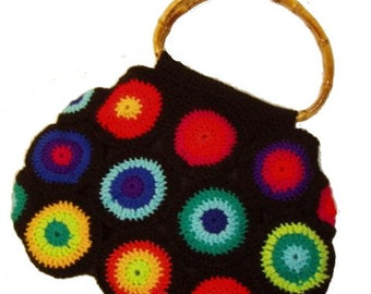 Crochet Bag RainBoW CirCles