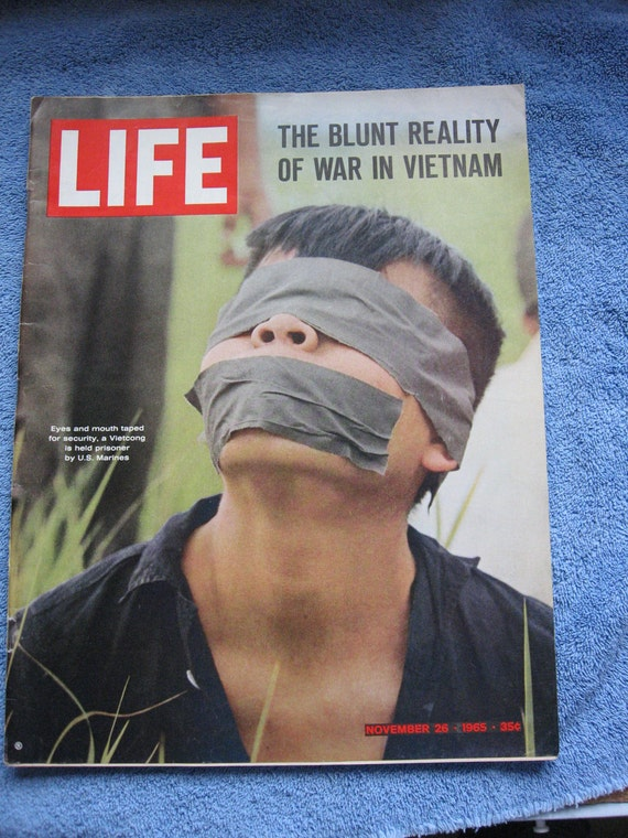Life Magazine November 26, 1965 The Blunt Reality  War in Vietnam
