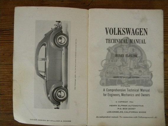 Volkswagen Technical Manual 1964