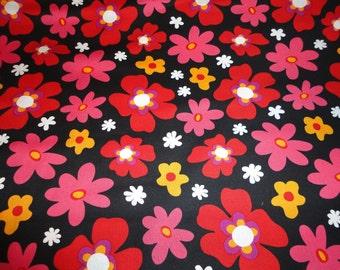 Blossom by Windham Fabrics 1 yard Black Flower