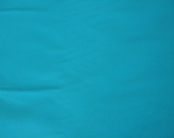 Quilters Cotton Turquiose Solid 1 yard