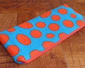 Red Polka Dot Pencil Holder/Gadget Bag