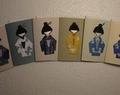 6  Boys Notecards