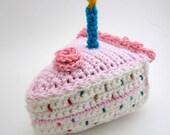 Birthday Cake Amigurumi at Absolutely Darling Crochet